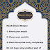 ghusl: how to perform ghusl in 3 steps