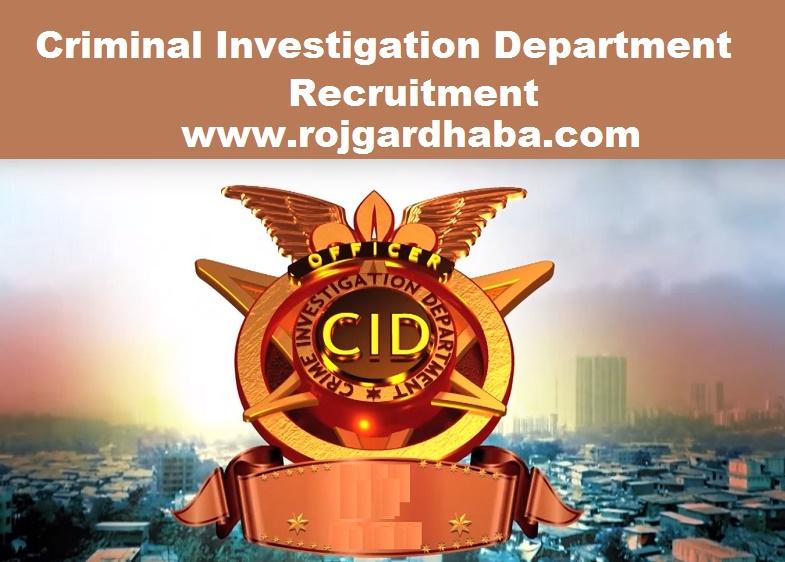 CID Recruitment 2017 - Driver Posts