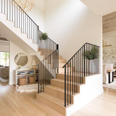 Desain Tangga Rumah Mewah Minimalis