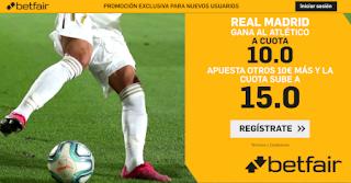 betfair supercuota doble derbi Real Madrid vs Atletico 1 febrero 2020