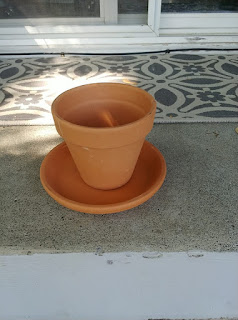 Thrifty Chicks Flower Pot Makeover Challenge