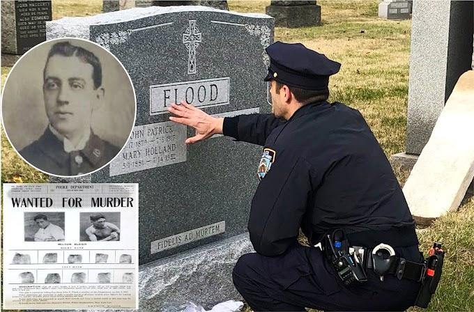 Colocan lápida en tumba de policía de NY más de 102 años después de ser asesinado por un boxeador en Manhattan
