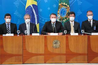 Coronavírus:  governo já anuncia combater a crise econômica