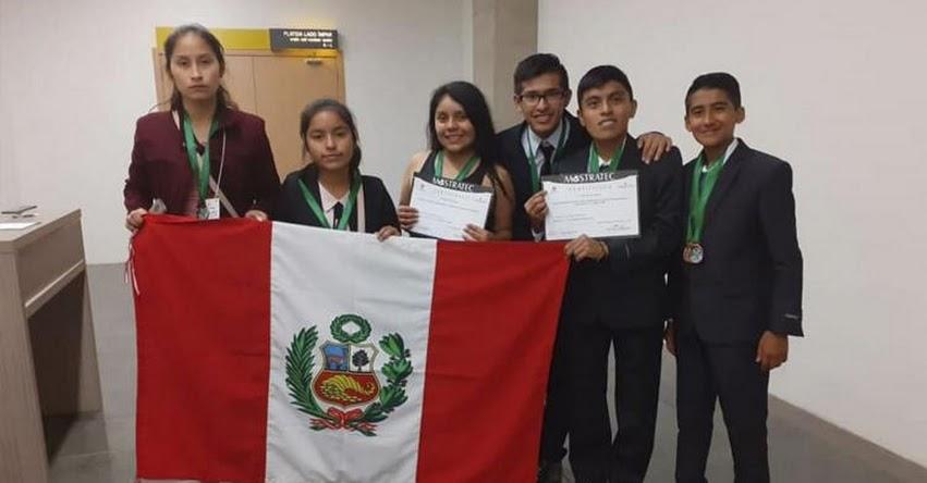 MOSTRATEC 2019: Escolares peruanos ganan primeros lugares en feria de ciencias de Brasil