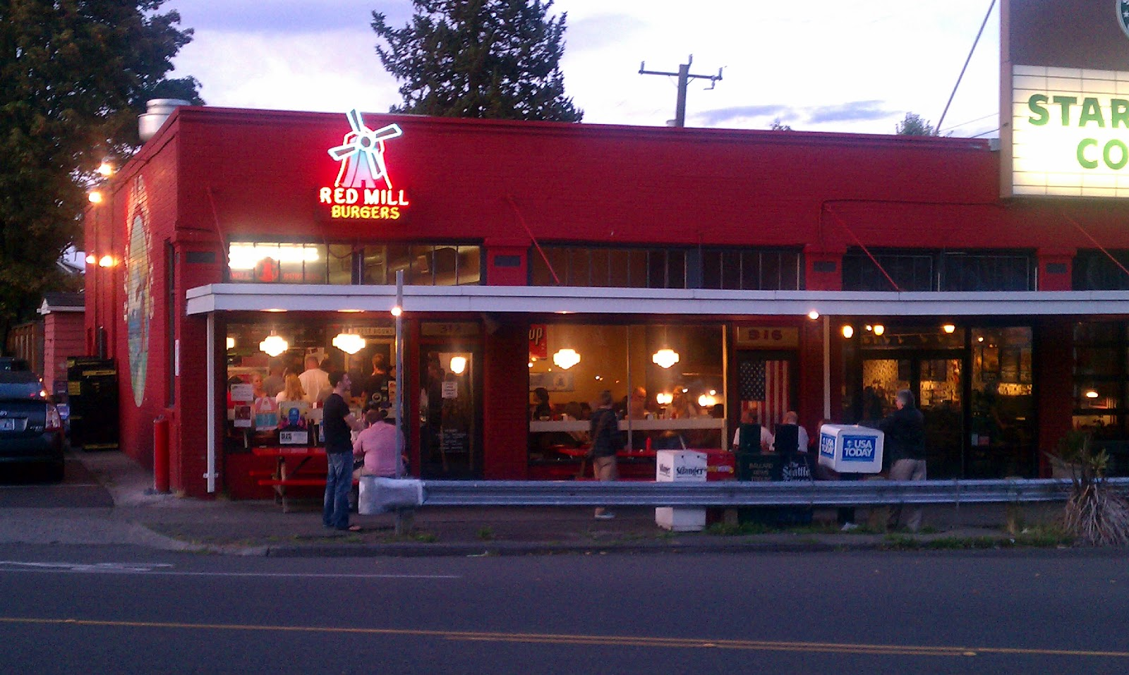 Andy Eats: Red Mill Burgers - Seattle, WA