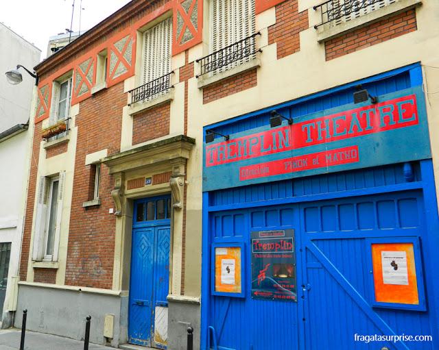 Teatro no bairro de Montmartre, Paris