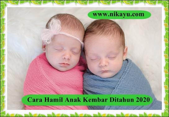 Mudahnya Hamil Anak Kembar Ditahun 2020, Setelah Lakukan Program Ini
