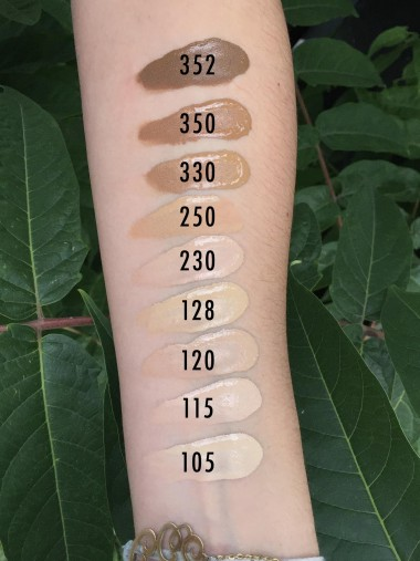 swatch_fond_de_teint_fit_me_matte_and_poreless_maybelline_mama_syca_beaute