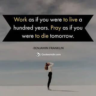 Benjamin Franklin Quotes, Best 20+ Inspirational Quotes