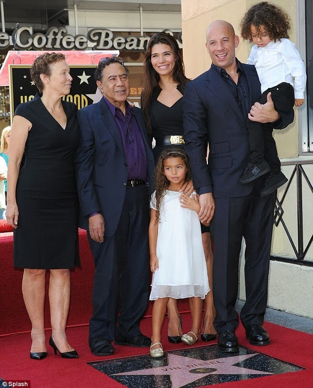 VinDiesel's Girlfriend And Two Children   CELEBRITY BLOGVin Diesel Mother Pic