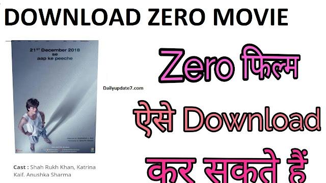 DOWNLOAD ZERO & ROBOOT 2.O MOVIE FULL HD
