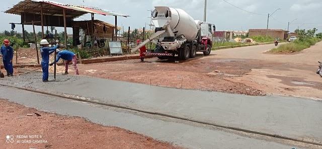 Secid faz novas intervenções de melhoramento no Residencial Ribeira a pedido de Astro de Ogum