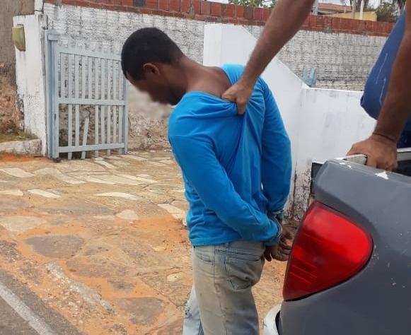 Polícia Civil prende em flagrante suspeito por homicídio em Tibau