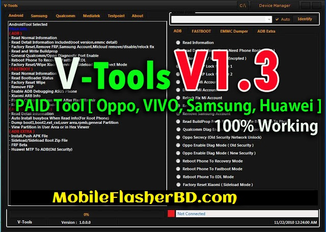 Download V-Tools V1.3 PAID Tool Latest Update Unlock Tool Free For All Without Password