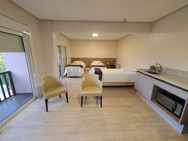 Letto Hotel Flores da Cunha