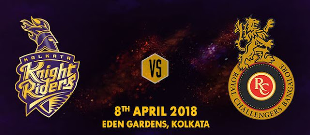KKR vs RCB IPL 2018 Match-3