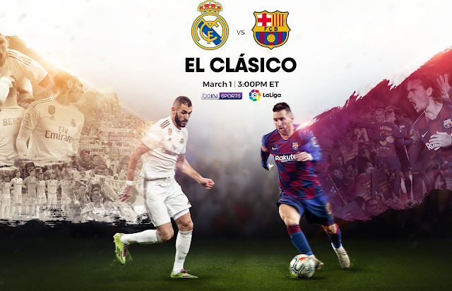 WAtch Barcelona vs Real Madrid  Live Stream Free EL CLASICO Soccer pass