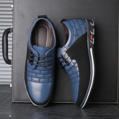 ZPCAILT 2019 Genuine Leather Mens Walking Shoes