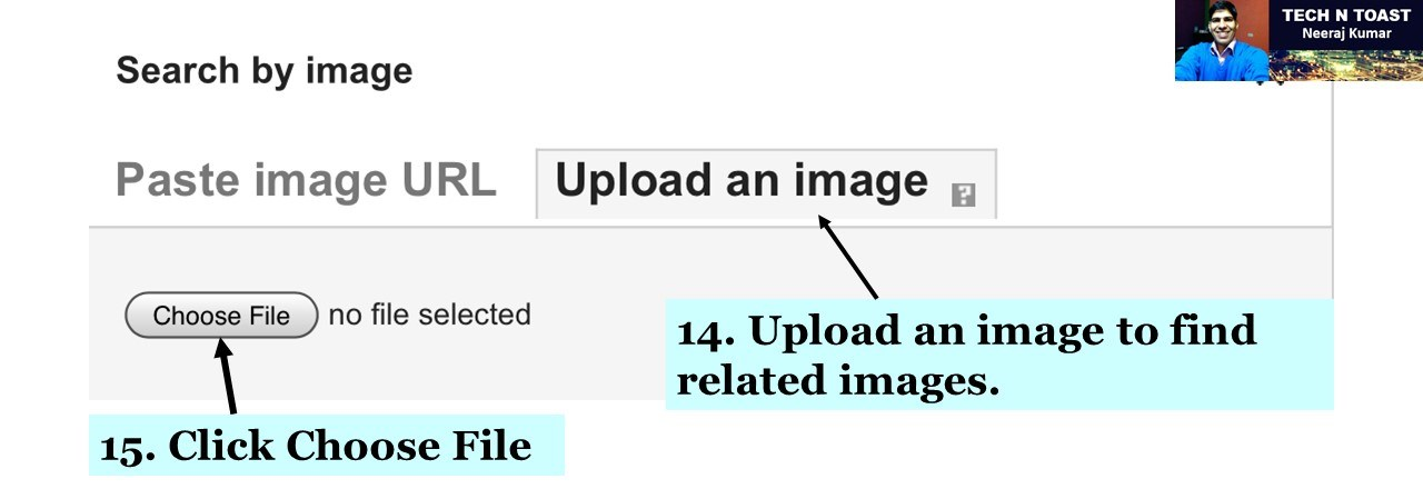 Upload an image to find related images