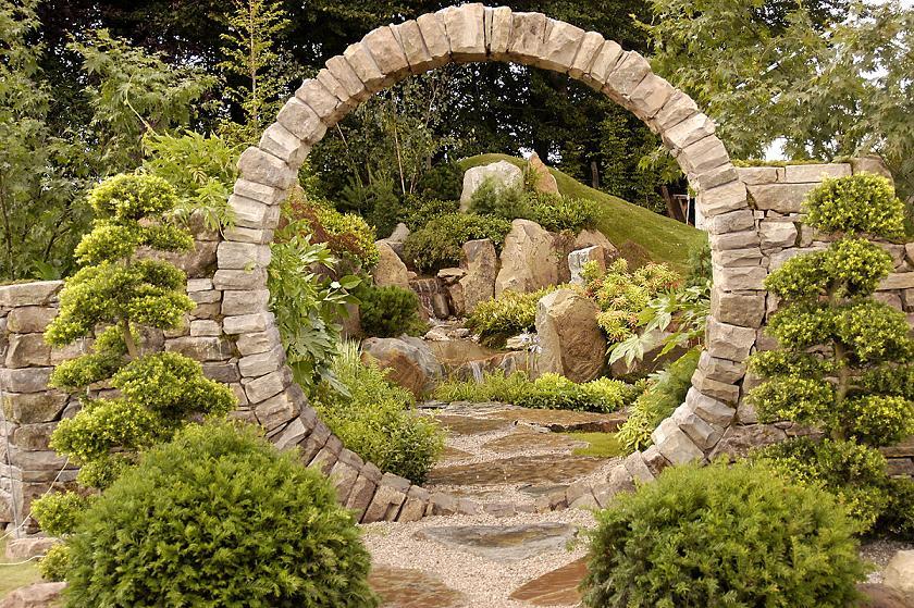 Ashiana photo shoot location ideas - How to make a japanese rock garden ...
