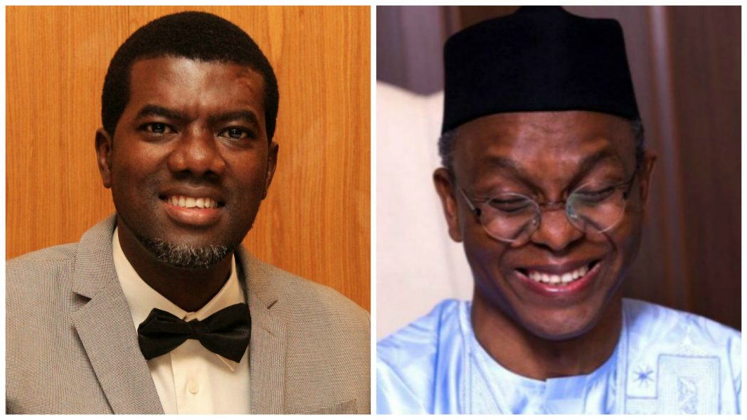 Reno Omokri Brands El-Rufai A Threat To Nigeria's National Security - Watch Video