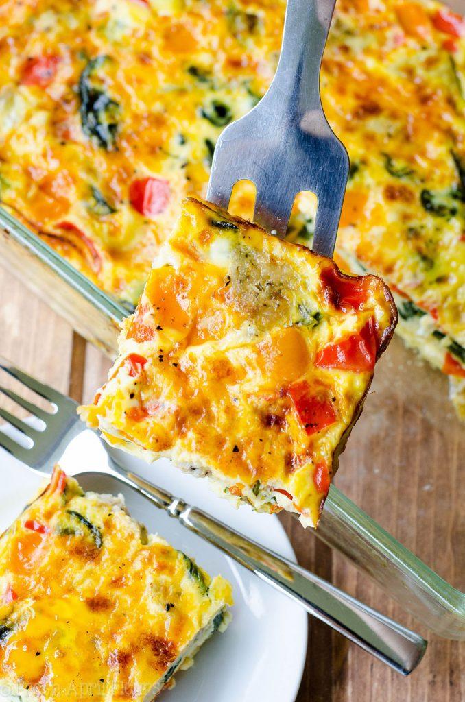 Make Ahead Meal: Breakfast Casserole