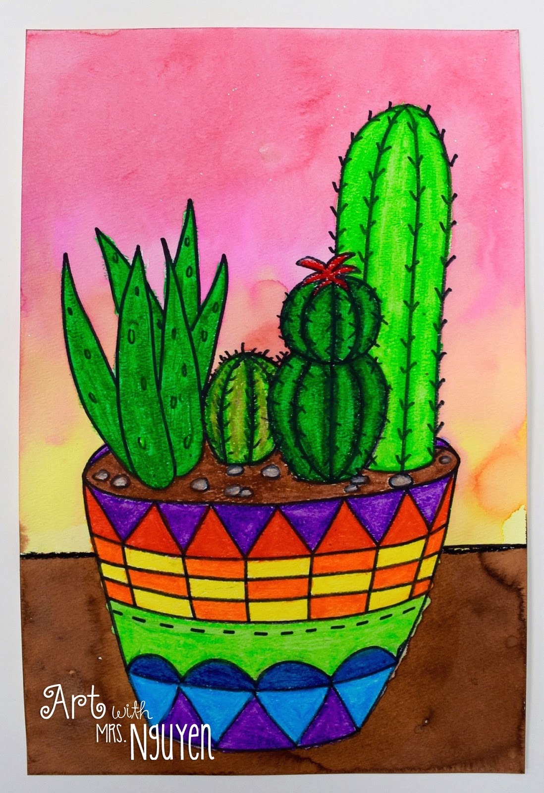 Succulent Garden Still Lifes 5th