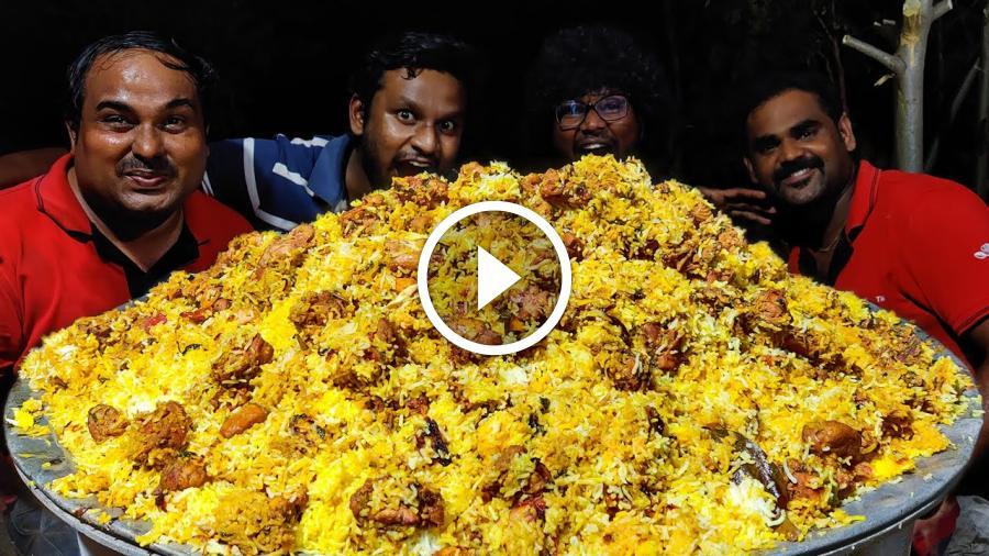 DELHI BIRYANI   Delhi Layer Chicken Biryani   Biryani Recipe   World Food Tube