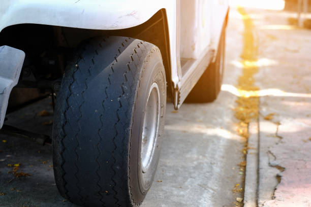 What are bald tyres and their risks?