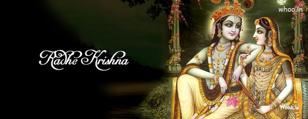 Radhe Krishna Facebook Cover HD