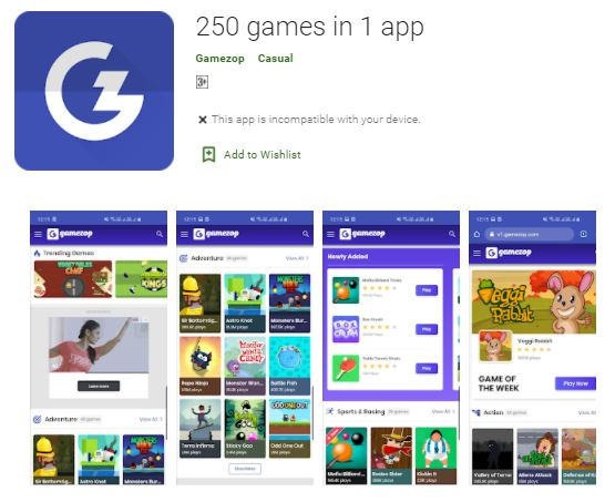 Gamezop best money earning app
