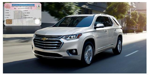 Daftar Biaya Pajak Chevrolet 2019 Lengkap