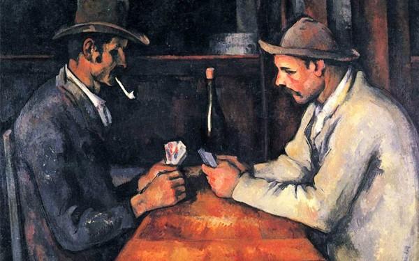 "Paul Cezanne - ""Jogadores de cartas"