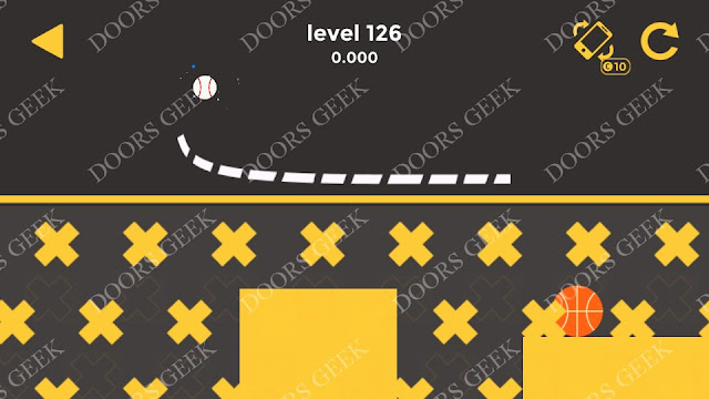 Ball & Ball Level 126 Solution, Walkthrough, Cheats for android and ios