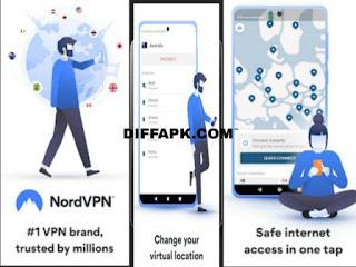 NordVPN – Best VPN & Unlimited Apk v4.15.1 [Premium Accounts]