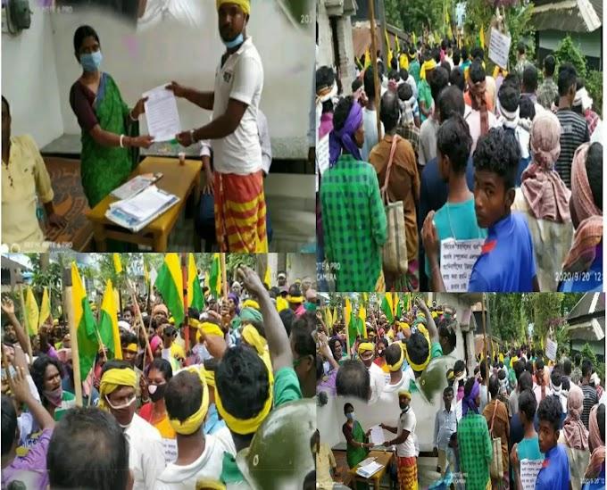 अगर विधानसभा में फर्जी एसटी को लेकर आवाज नहीं उठती। शासक दल के नेता को आदिवासी गांवों में प्रवेश करने की अनुमति नहीं दी जाएगी।