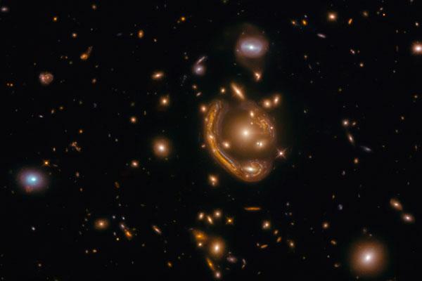 Hubble vê um 'anel derretido'