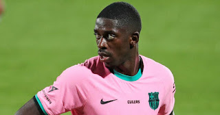 Ousmane Dembele tries to win Barcelona Coach Ronald Koeman's heart by training on day off