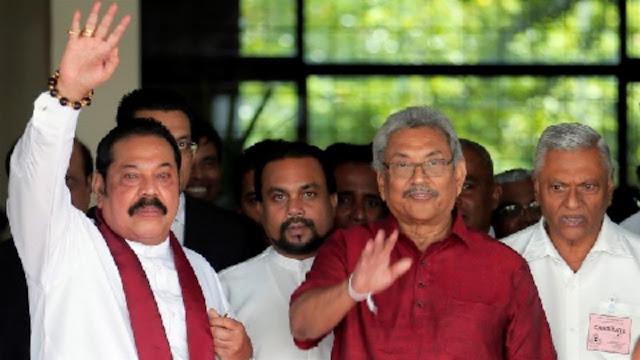 Sri Lanka's powerful Rajapaksa brothers have secured a landslide victory