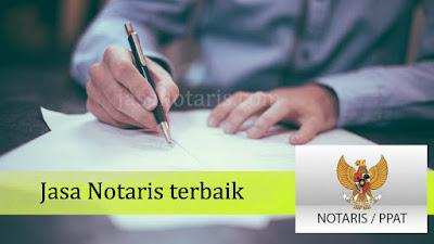 Jasa notaris terbaik di indonesia