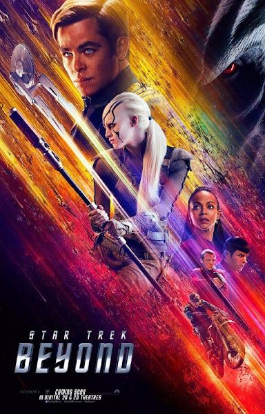 Poster of Star Trek Beyond 2016 720p English HDRip Full Movie Download