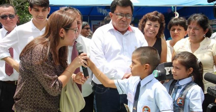 Estudiantes de Lamas motivan la lectura con «Chiquinoticias» DRE San Martín - www.dresanmartin.gob.pe
