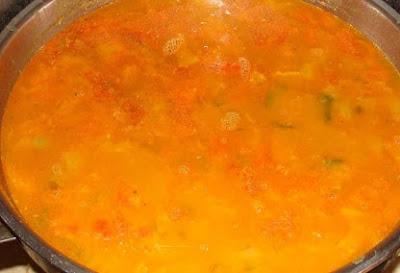 সম্বর ভাল রেসিপি sambar dal recipe in bengali