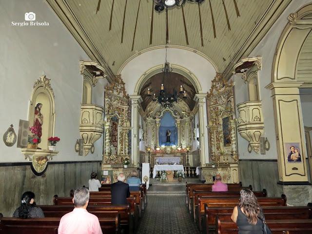 Vista do interior da Igreja Santo Antônio - Centro - São Paulo
