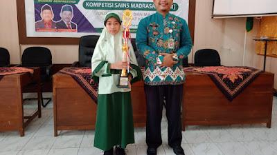 MI Tahassus Prapagkidul Kembali Menorehkan Prestasi di Kompetisi Sains Madrasah Tingkat Kabupaten