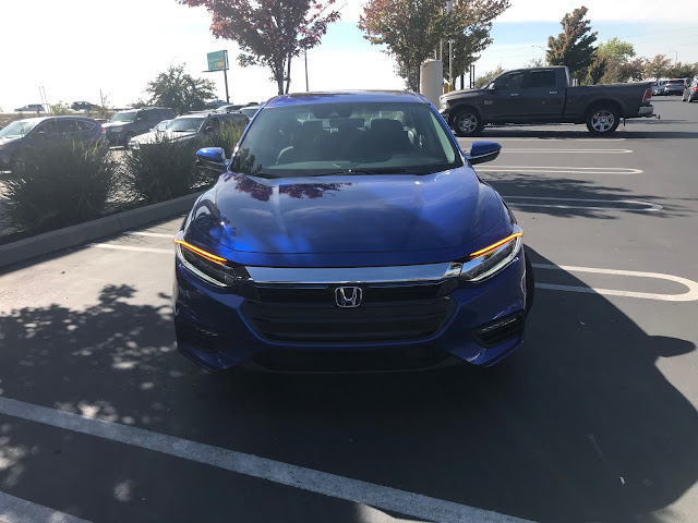 Front view of 2020 Honda Insight Touring