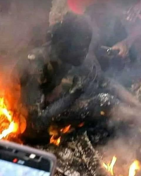 #BreakingNews: Onitsha on Fire