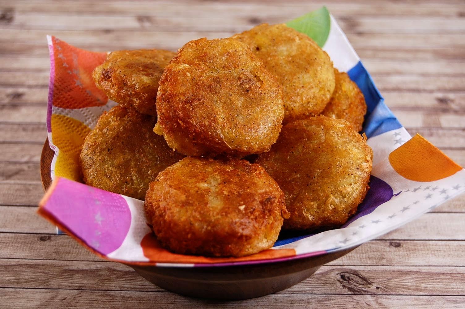 Vegane Kartoffeln Frikadelle indonesisch