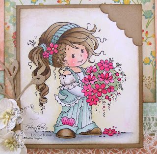 Heather's Hobbie Haven - Ruby Water Coloring Card Kit
