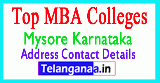 Top MBA Colleges in Mysuru (Mysore) Karnataka